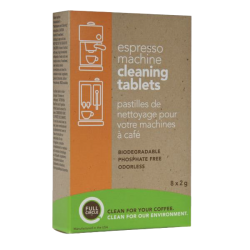 FULL CIRCLE® espresso machine cleaning tablets