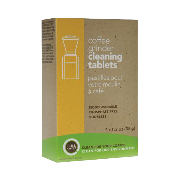FULL CIRCLE® coffee grinder cleaning tablets